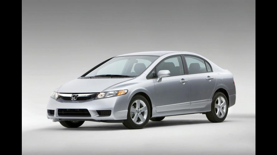 Honda Civic model year 2009 per gli USA