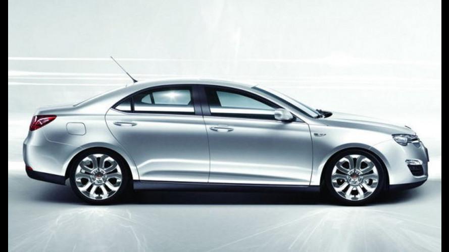 Roewe 550: svelata al China Auto Show