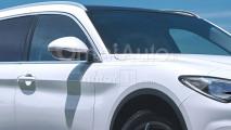 SUV Alfa Romeo grande il rendering