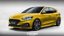 New Ford Focus ST render