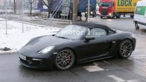 Porsche 718 Boxster Spyder, le foto spia