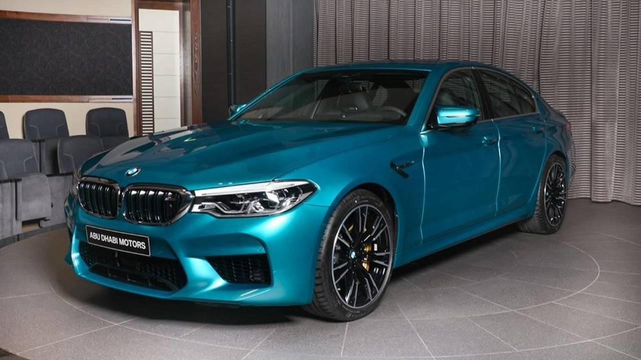 BMW M5 2018, de Abu Dhabi Motors