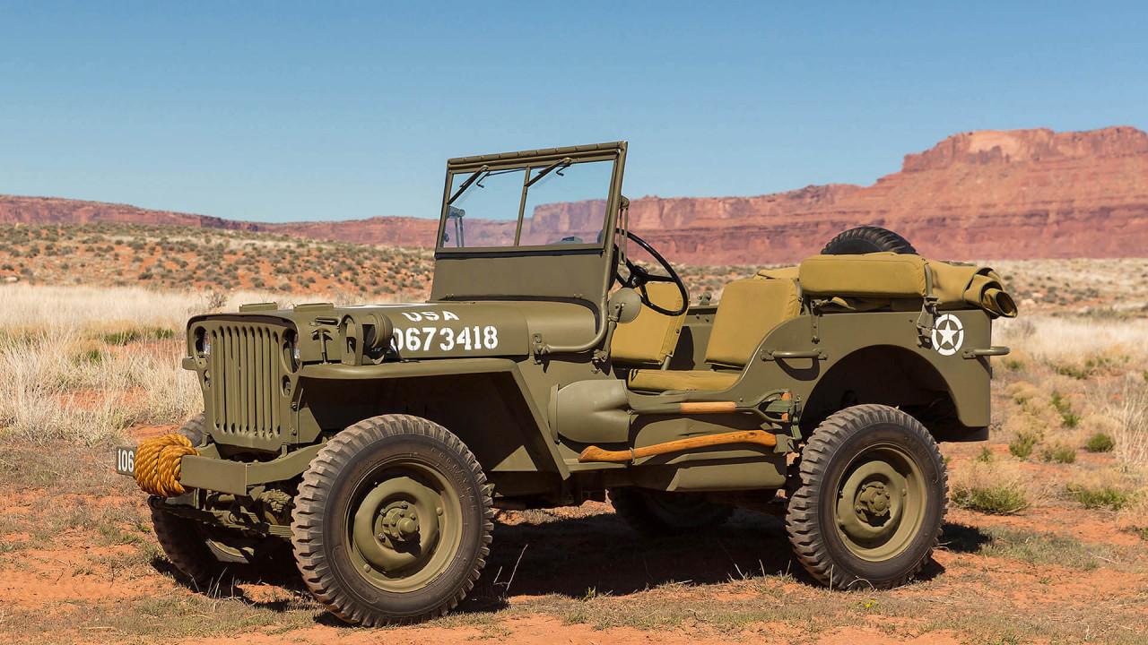 Willys MB (1941): erster Geländewagen