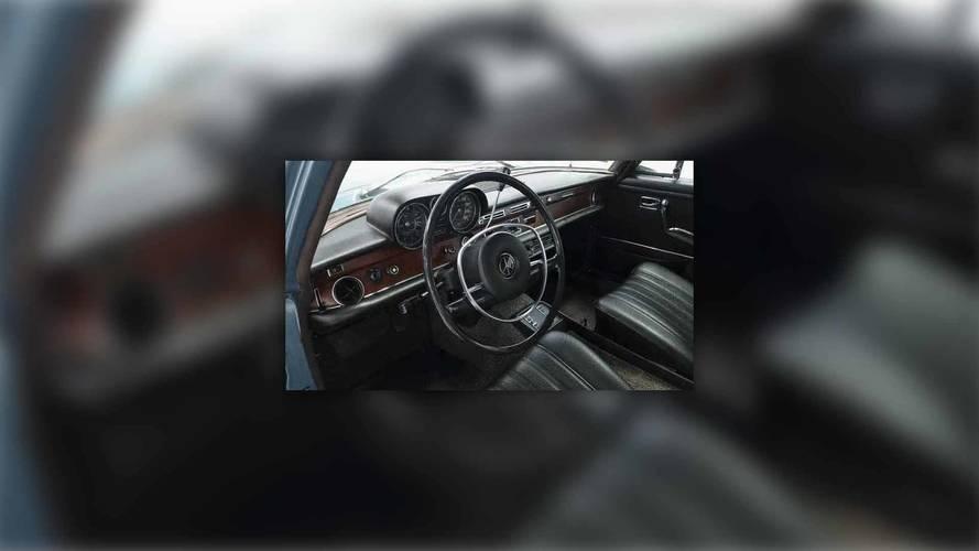 Elvis Presley's 1971 Mercedes-Benz 280SEL