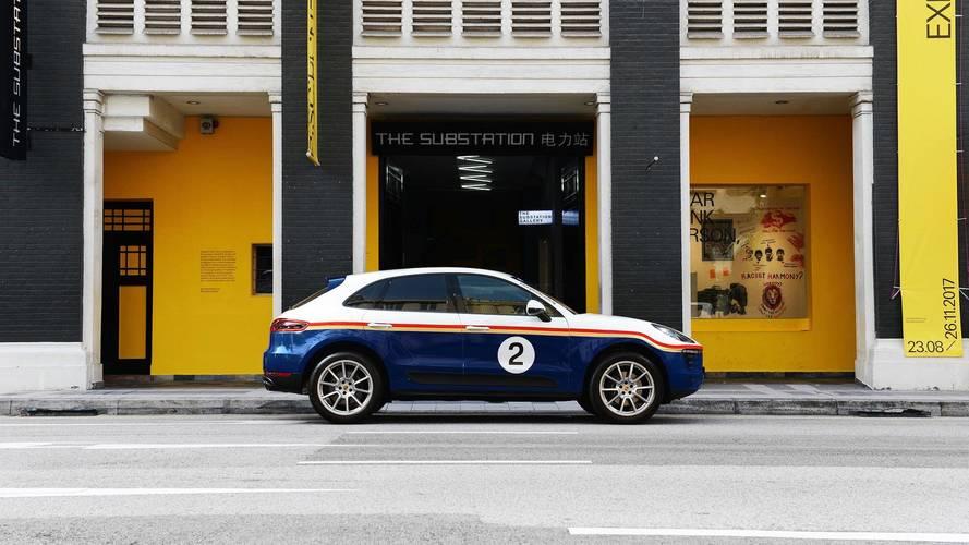 Porsche Macan Rothmans Livery