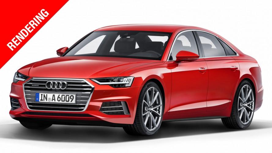 Nuova Audi A6, la piccola ammiraglia diventa più slanciata