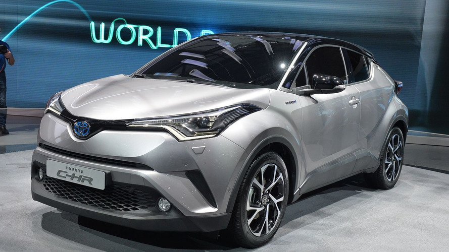Toyota C-HR brings first full hybrid to subcompact crossover segment