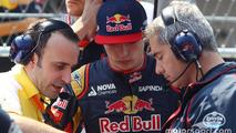 Max Verstappen, Scuderia Toro Rosso on the grid