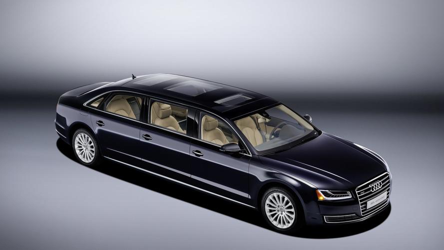 Audi présente l'A8 allongée