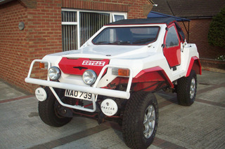 Forget Old Jeeps - Buy this Bizarre Rotrax Kit Car