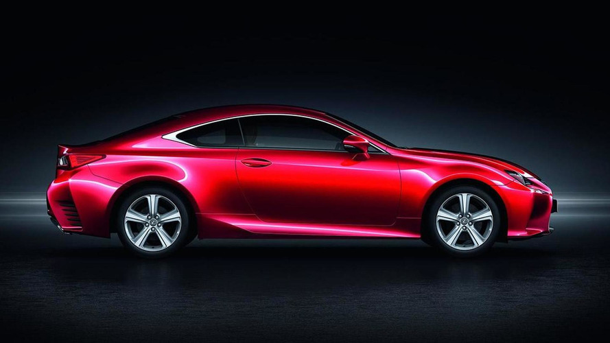 Lexus RC 200t announced for Europe with 245 PS 2.0-liter turbo