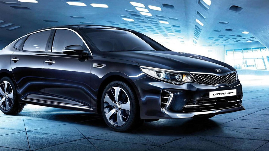 Kia Optima GT debuts at IAA with 245 PS 2.0-liter turbo engine