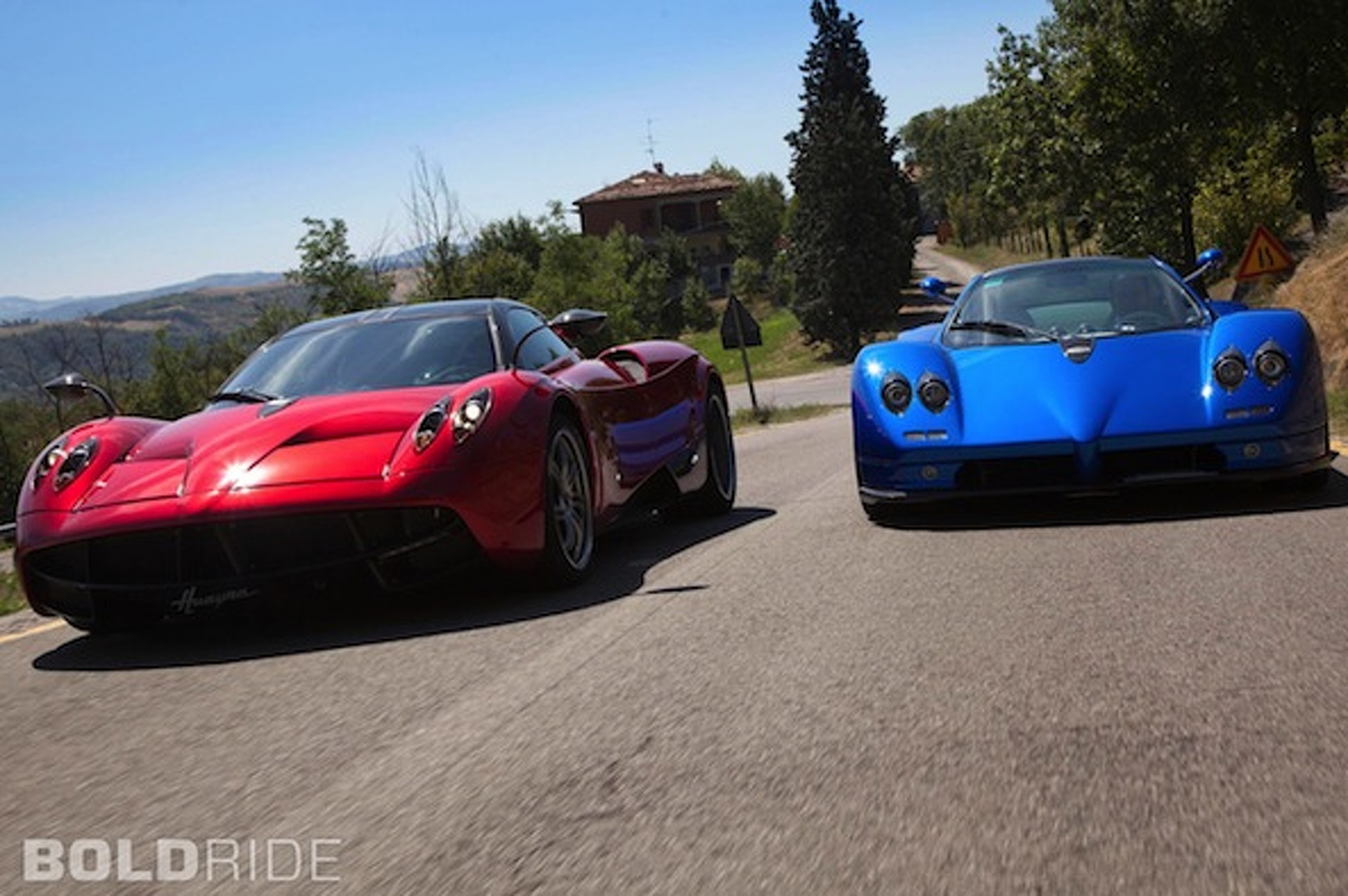 Wheels Wallpaper: The Pagani Twins