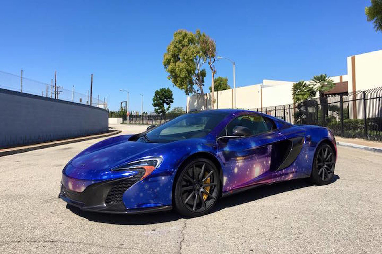 Space-Themed McLaren 650S is an Astronomer's Dream
