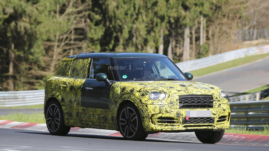 2017 Mini Countryman puts JCW suit for Nürburgring test