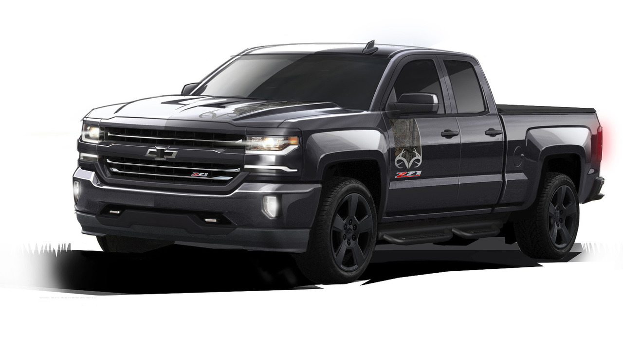 2016 Chevy Silverado Realtree Edition