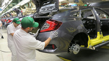 2016 Honda Civic goes into production
