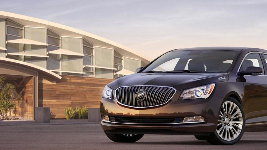 Buick highlights the Ultra Luxury Interior package on the 2014 LaCrosse