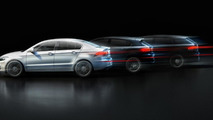 Qoros GQ3 and two concepts
