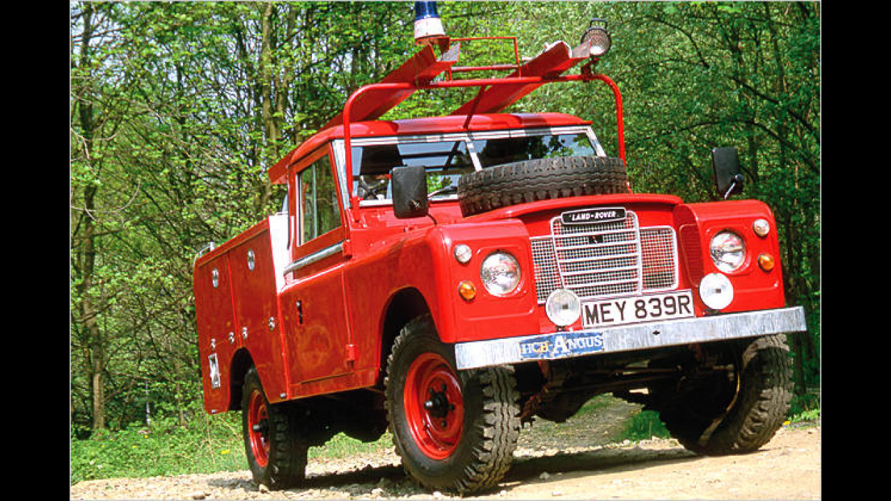 Land Rover Series III 109'' Fire Appliance Conversion