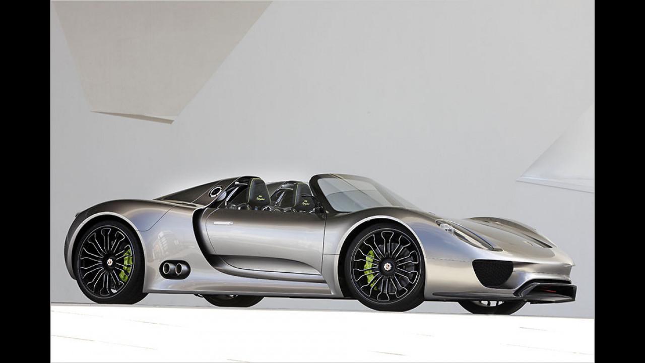 Porsche 918 Spyder Concept Car (2010)