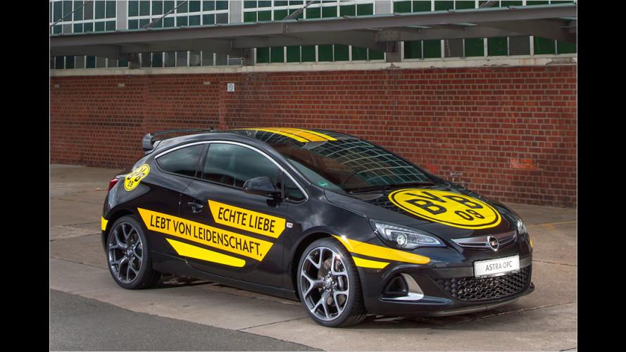 Opel sponsert Borussia Dortmund