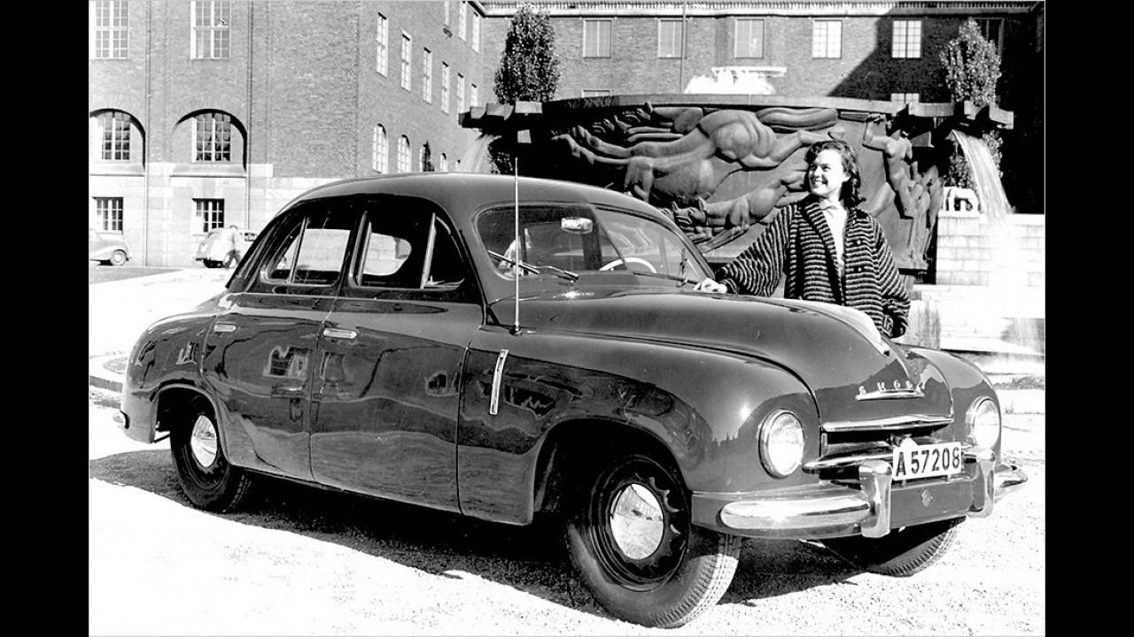 1952: Skoda 1200 Sedan