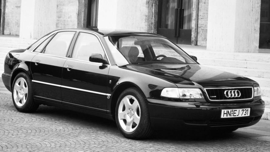 L'Audi A8 à travers les années