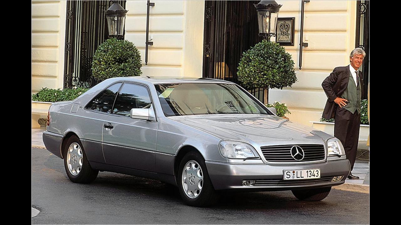Mercedes SEC / S-Klasse Coupé / CL-Klasse (C140): Ab 3.000 Euro