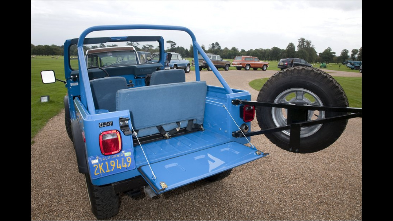 70 Jahre Jeep: Mega-Party in Goodwood