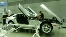 Mercedes-Benz SLR McLaren Production