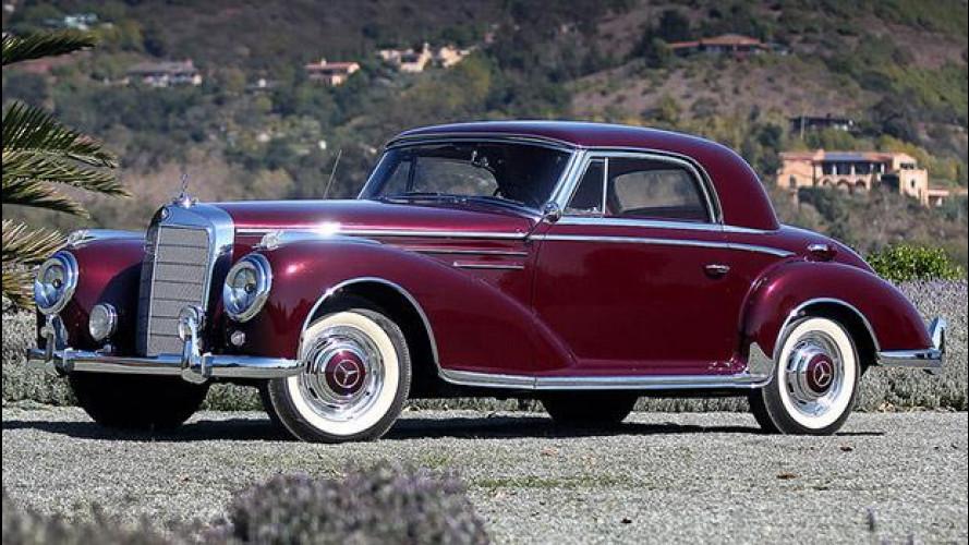 Mercedes, una passione per le grandi coupé