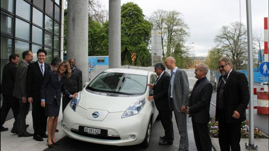 Nissan Leaf si fa in