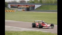 Andrea Bertolini prova a Fiorano la Ferrari 312 T4 1979 di Gilles Villeneuve