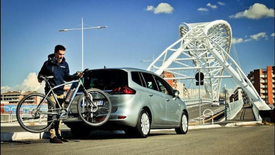 Opel FlexFix, la nostra prova del portabici