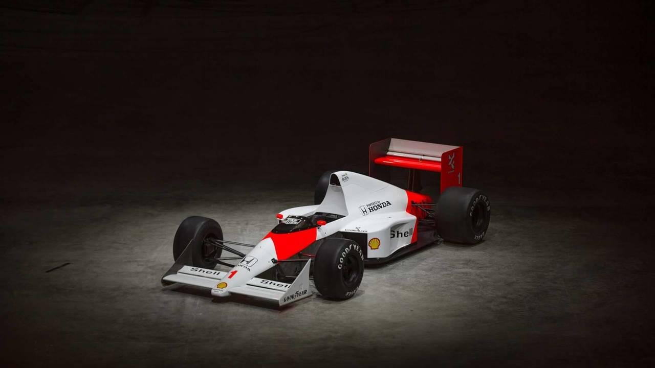 1989 Ayrton Senna McLaren F1 car