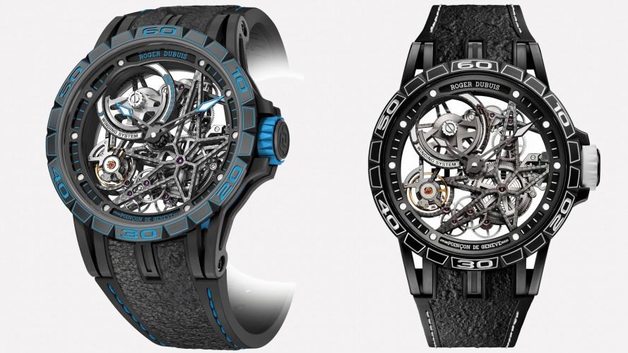 Roger Dubuis e Pirelli Design colorano il tempo