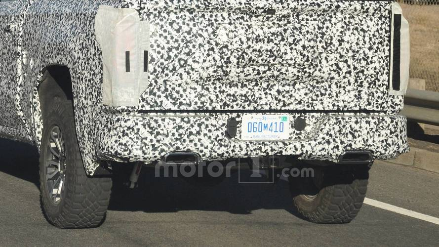 2019 GMC Sierra All-Terrain Spy Photo