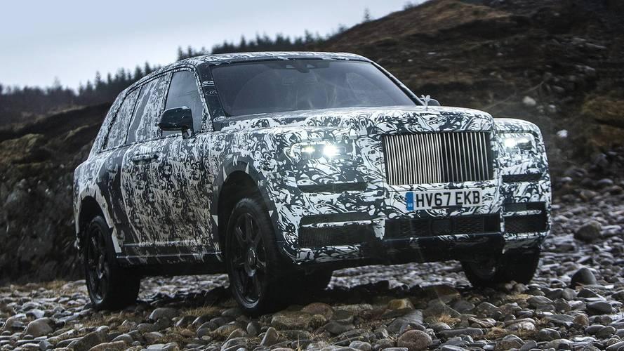 La Rolls-Royce Cullinan debutta su National Geographic