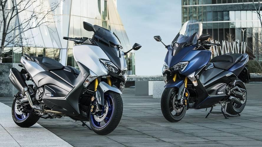 Yamaha lanza el TMAX SX Sport Edition, con escape Akrapovic