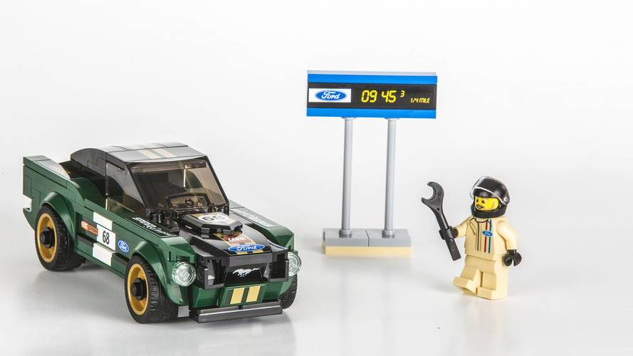 Ford Mustang 1968 Lego Speed Champions