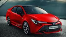 Toyota Corolla 2020 - Projeção