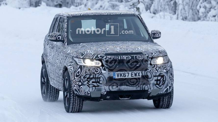 2019 Land Rover Defender spy photos