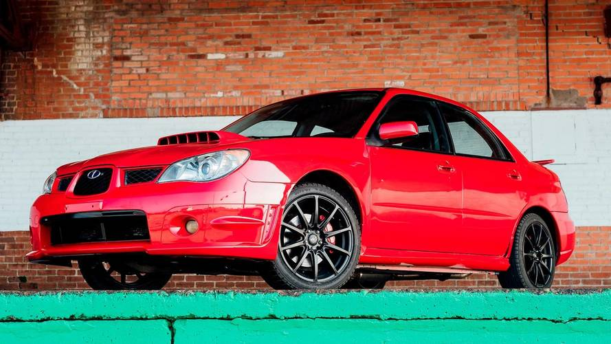 Second Baby Driver Subaru Comes Up For Sale