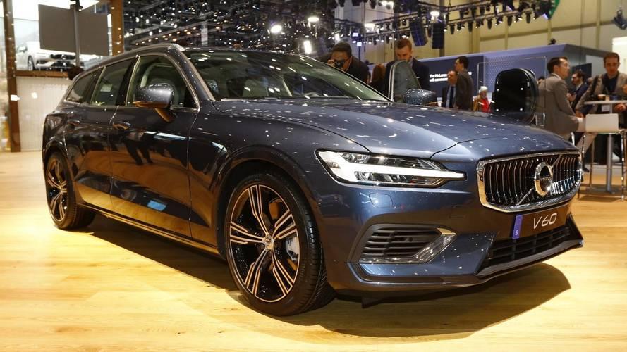 2019 Volvo V60 Live From Geneva Motor Show