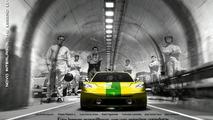 Tropical Renault Alpine: The Interlagos