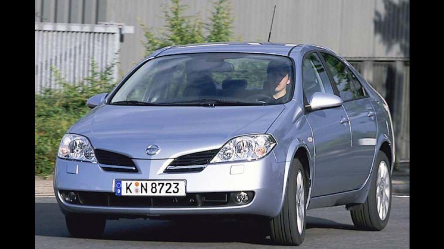 Nissan Primera: Basismodell bis August 3.000 Euro günstiger