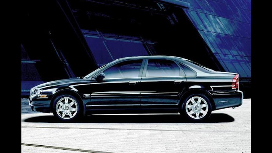 Großer schwarzer Wagen: Edel-Volvo S80 Black Edition