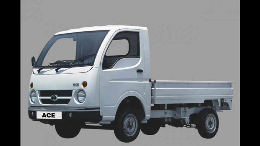 Tata Elektro Ace: Indischer Mini-Pick-Up unter Strom gesetzt