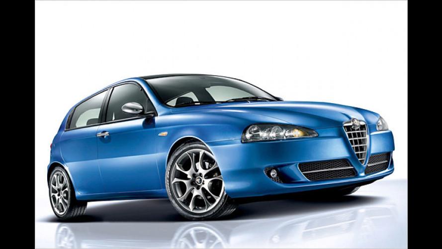 Drei neue Alfa-147-Sondermodelle sind ab sofort erhältlich